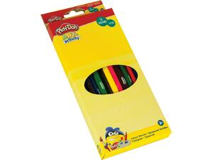 Ξυλομπογιές Play Doh Τρiγωνικές 24 τεμάχια- 12 Χρώματα (320-20002)