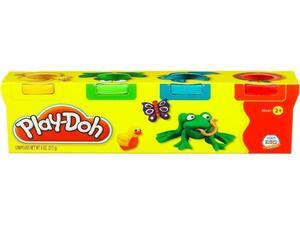Βαζάκια Πλαστελίνης Play-Doh (συσκευασία 4 τεμαχίων)