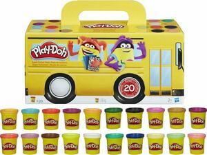 Βαζάκια Πλαστελίνης Play-Doh Super Color (συσκευασία 20 τεμαχίων) (Διάφορα χρώματα)