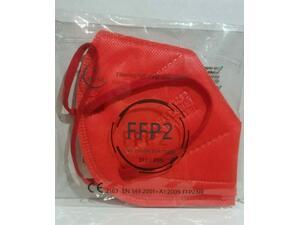 Μάσκα προστασίας Tie Χiong Civil Protective FFP2 κόκκινη