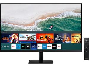 """Οθόνη Samsung Smart Monitor M50A 32"""" FHD - LS32AM500NUXEN"""