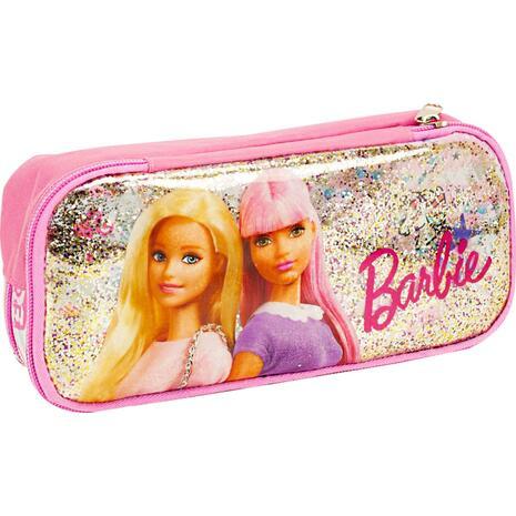 Κασετίνα οβάλ GIM Barbie Girl Power (349-69144)