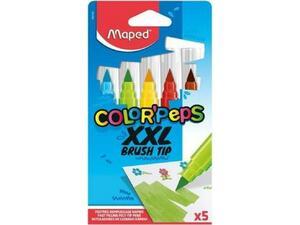Μαρκαδόροι ζωγραφικής MAPED Color Peps XLL Brush (συσκευασία 5 τεμαχίων) (844705)