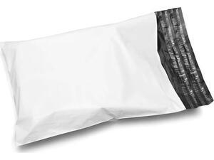 Σακούλες Πλαστικές Courier Λευκές 40x50cm 50mic (100 τεμάχια)