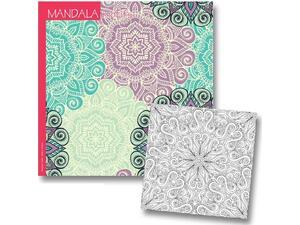 Βιβλίο Ζωγραφικής Mandala Motifs 23x23cm 36 φύλλων 120gr