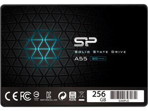 Εσωτερικός Σκληρός Δίσκος SSD SILICON POWER A55 256 GB SATA III