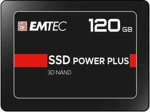 Εσωτερικός Σκληρός Δίσκος SSD EMTEC 120 GB POWER PLUS 3D NAND 2.5''