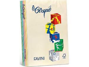 Χαρτί εκτύπωσης Favini Α4 160gr 250 φύλλα έντονα διάφορα χρώματα  (Διάφορα χρώματα)