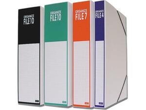 Κουτί αρχειοθέτησης Next με λάστιχο 27x36x4cm σε διάφορα χρώματα