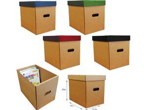 Κουτί αρχειοθέτησης Next Classic οικολογικό Υ31x36x24,5εκ. με καπάκι σε διάφορα χρώματα