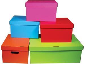 Κουτί αποθήκευσης Next Colors χάρτινο Υ19x30x25,5εκ. σε διάφορα χρώματα
