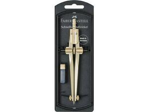 Διαβήτης Faber Castell Stream με μηχανισμό εύκολης ρύθμισης χρυσός 174540