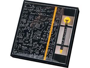 Σημειωματάριο Total gift Math A5 με λάστιχο και στυλό XL1874