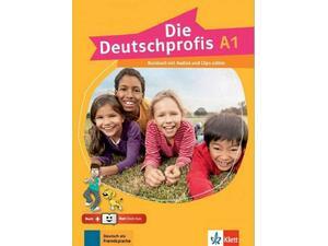 DIE DEUTSCHPROFIS A1 KURSBUCH (+Audios online + KLETT BOOK-APP)