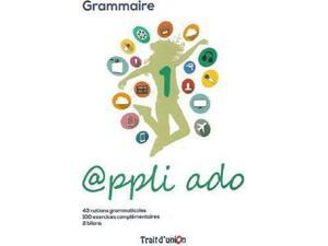Appli ado 1 grammaire