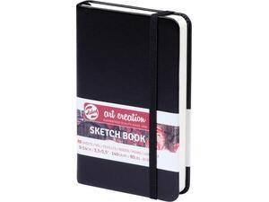 Μπλοκ Sketch Book Talens 9x14cm 80 φύλλων μαύρο (38913)