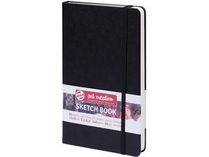 Μπλοκ Sketch Book Talens 13x21cm 80 φύλλων μαύρο (38899)