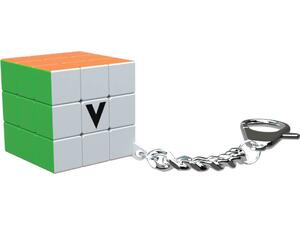 Μπρελόκ κύβος V-Cube 3 white flat