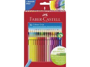 Ξυλομπογιές ακουαρέλας Faber Castell Grip 36 τεμαχίων