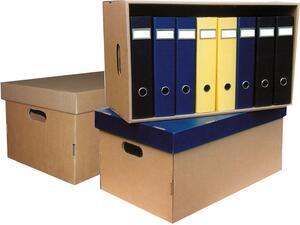 Κουτί αρχειοθέτησης Next Big Box με καπάκι σε διάφορα χρώματα Α3 66x31x40cm