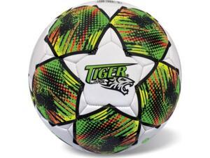 Μπάλα Δερμάτινη Ποδοσφαίρου STAR Tiger fluo green