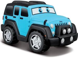 Bburago junior jeep wrangler unlimited lil drivers (16/82301)